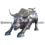 Metal Statue for Outdoor Decoration (Bull)