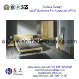 Hot Sale Double Bed Hotel Suite Bedroom Furniture (F04#)