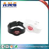 13.56MHz Adjustable UHF Wristband ISO15693 RFID Silicone Bracelet