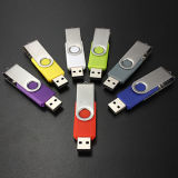 Wholesale Swivel OEM USB Flash Drive with Custom Logo
