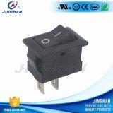 Wholesale on-off White 6A Mini Rocker Switch Rectangular Spst