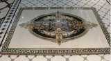 Golden Crystal Ceramic Carpet Floor Tile