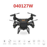 040127W-2.4G 4CH 6-Axis Gyro 0.3MP WiFi Fpv Foldable RC Quadcopter RTF Drone with 3D-Flip Headless Mode and One-Key Return