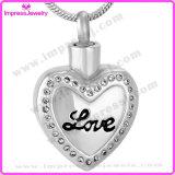 Memorial Necklace Polished Love Heart Pendants