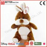 Stuffed Toy Plush Animal Soft Rabbit Hand Puppet