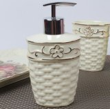 Hot Sale Hotel Ceramic Bathroom Accessories Set