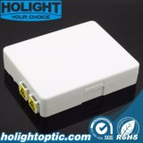 2 Ports Fiber Optic FTTX Faceplate