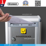 Cheapest Small Size Lockable Metal Suggestion Box M01