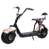 2 Wheels Mobility Scooter for Adults with 1000W 60V/30ah