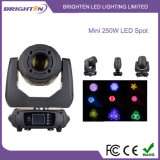 Smaller 250W LED Moving Head Spot Stage Light