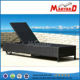 PE Wicker Outdoor Chaise Lounge for Pool