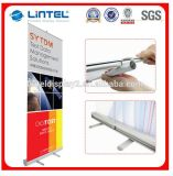 Exhibition Display Aluminum Scrolling Roll up Banner Stand (LT-0B2)