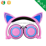 Hot Selling Wholesale Wired Stereo OEM Cat Ear Headphone