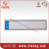 Euro Embossed Number Plate with Reflective Film