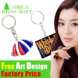 OEM Metal/PVC/Leather Custom Malaysia Souvenir Keyring
