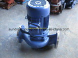 Isg\Irg Close Coupled Centrifugal Water Vertical Pipeline Pump