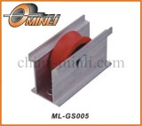 Single Aluminum Alloy Bracket Pulley for Window and Door (ML-GS005)