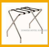 Sliver Chrome Luggage Rack for Hotel