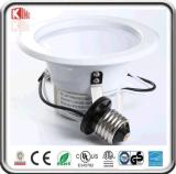 ETL Es Dimmabel E26 4 Inch Retrofit Kit LED Downlight