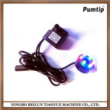 DC12V Brushless DC Pumps with Colorful Gradient LED Lamp with Power Adapfountter