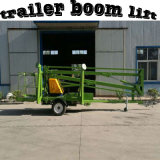 Electric Spider Man Mounted Trailer Boom Lift Platform