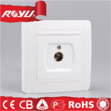 PC Material TV Electric Outlet for Round Mounting Box