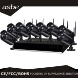 8CH Wireless IP Bullet 1080P Home CCTV Security Equipment Camera Kit