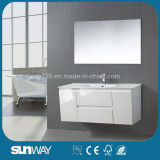 Europe Latest Wall Mounted MDF Bathroom Cabinet with Sink
