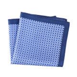 Luxury Silk Polyester Dots Printed Pocket Square Hanky Handkerchief (SH-053)