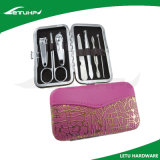 Convenient 7 in 1 Nail Care Tool Manicure Kit with PU Box