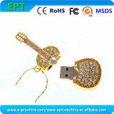 Diamond Crystal Guitar USB Flash Drive (ES107)