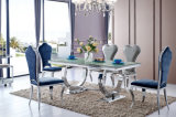 2016 Modern Italian Dining Room Stainless Steel Banquet Wedding Chairs