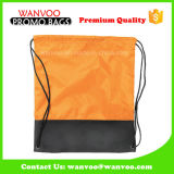2016 Popular 210d Polyester Sport School Outdoor Drawstring Backpack for Basketball