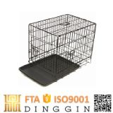 High Quality Steel Dog Cages with 2 Doors
