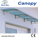 Polycarbonate Stainless Steel Awning for Balcony Fans (B900-3)