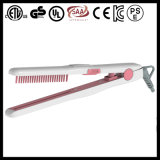 LED Hair Flat Iron with Built-in Comb (Q1)