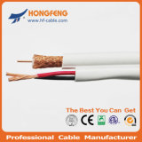 Security Cable Rg59 Siamese Coaxial Cable