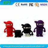 Customized Logo Soft PVC USB Flash Drive Memory Stick (EG206)