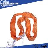Polyester Lifting Belt Sling 1-100m Polyester Webbing Sling Belt