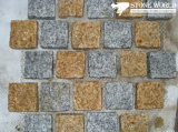 Flamed Grey/Yellow Mesh Paver for Outdoor Garden