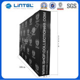Stable 4*3 Straight Fabric Banner Stand Durable Pop up (LT-09D)