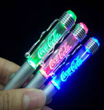 High Quality and Fancy LED Light Logo Pen