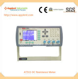High Precision DC Resistance Meter Digital Milli Ohm Meter (AT515)