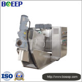 Low-Energy Design Screw Type Dehydrator Machine in Textile Sewage Treatment