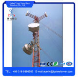 China Factory Guy Wire Telecom Antenna Steel Guyed Tower