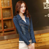 Wholesale Women Clothes Fashion Casual Ladies Denim Jacket