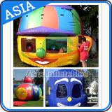 Inflatable Bouncer Balloon Typhoon / The Doll Head Shape Inflatable Game