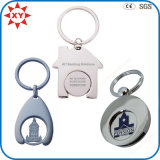 Eco-Friendly Metal Material Trolley Coin Keyring