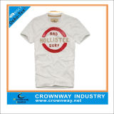 Vintage Mens Cotton T-Shirt with Printing