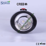 3W LED Headlamp, Cordless Cap Lamp, Helmet Light, Emergency Light